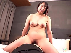Rico Tachiban is huge-boobed and railing a stiff cock