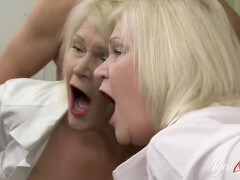 AGEDLOVE Hard-core activity came when naughty mature seduced dude
