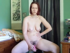 Custom-built - Fuckslut gets facefucked while jerking and finishes off rock hard