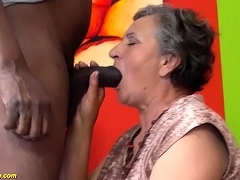 80 years old granny very first time supersluts nailed