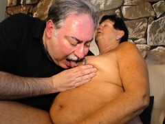 Hard-core OMAS - Mature tattooed German Plumper gets pounded and nutted on
