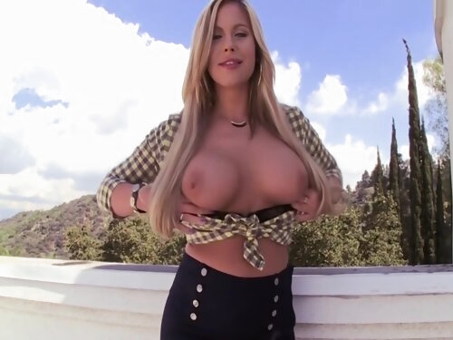 Busty Milf Shows Off Tits Before Creampie