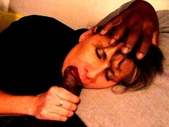 Lisa bitchy by 2 blacks in front of her cuckold hubby